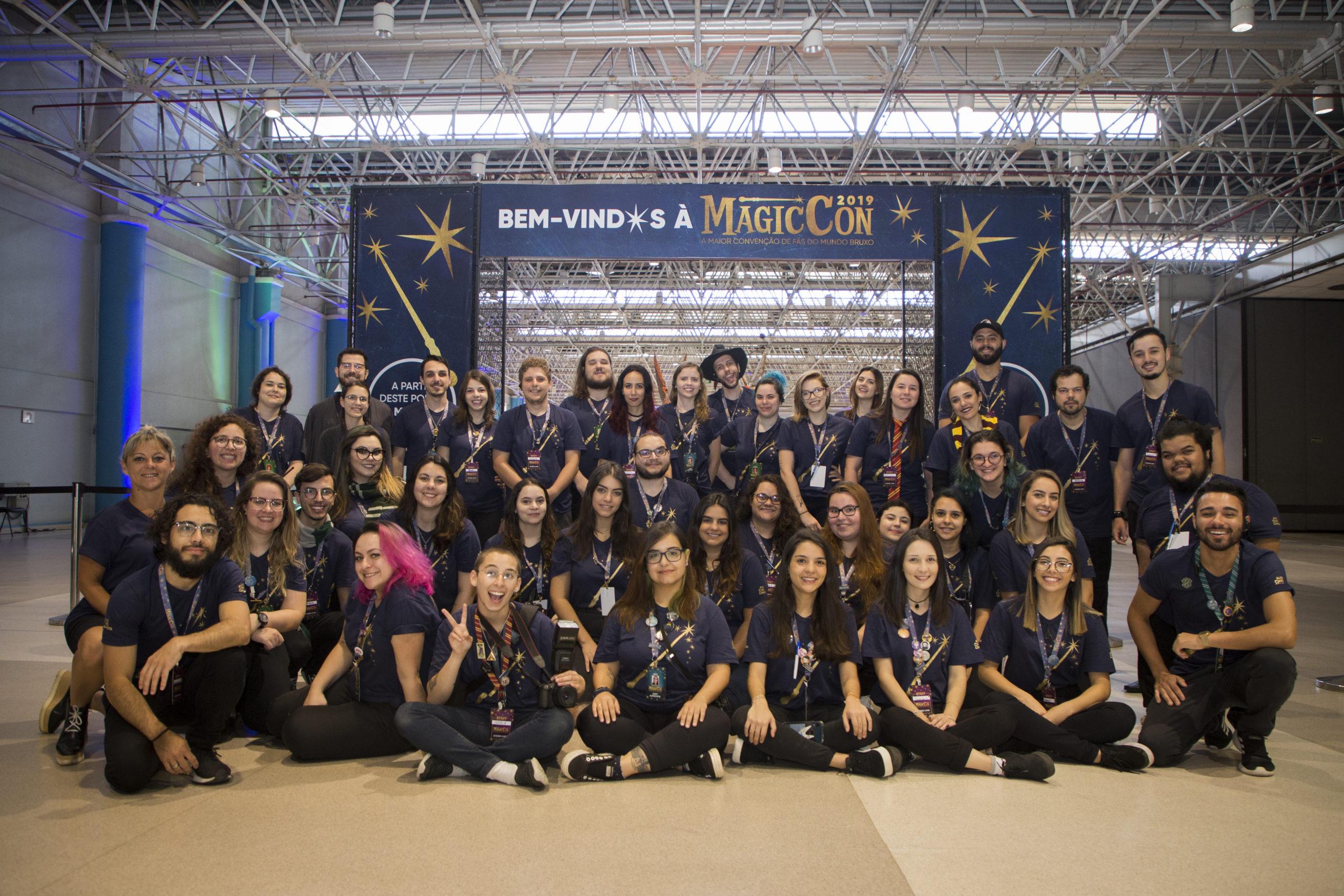Equipe de organização da MagicCon 2019